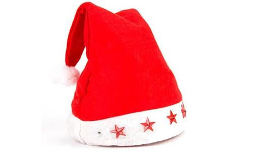Kerstmuts Met Licht : Kerstmutsen kerstmutsen met lichtgevende sterren