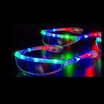 Led kerstbril rainbow
